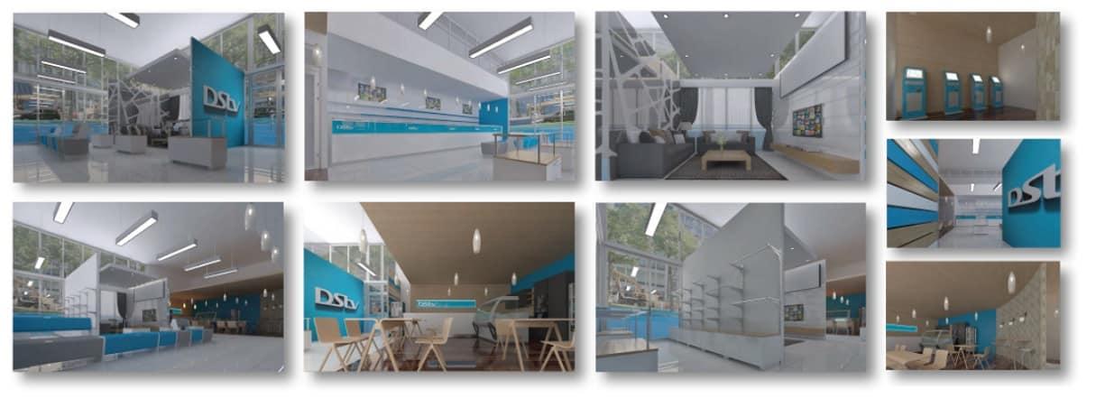 DSTV – Concept Retail Store