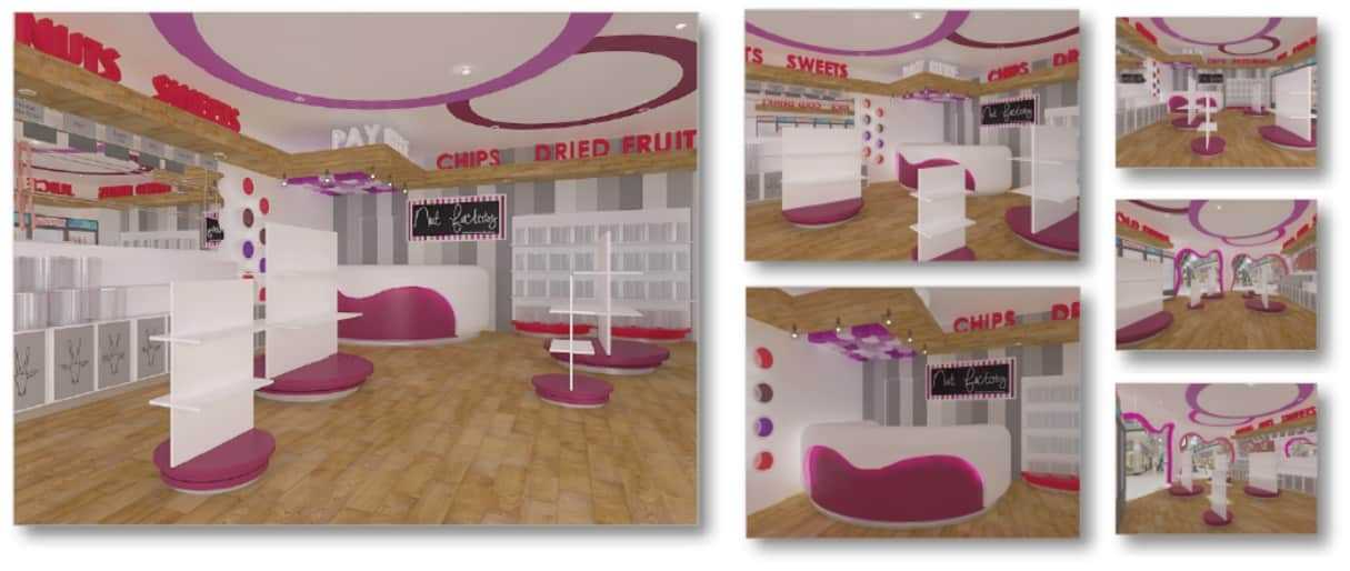 Nut Factory – Concept Sweet Store