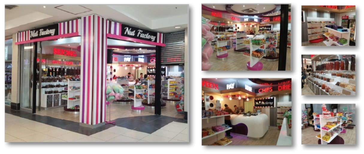 Nut Factory – Actual Store