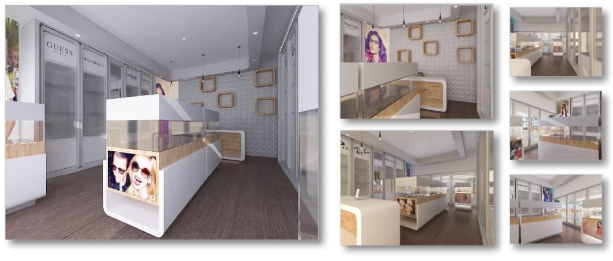 Sunglasses 4U – Concept Retail Store