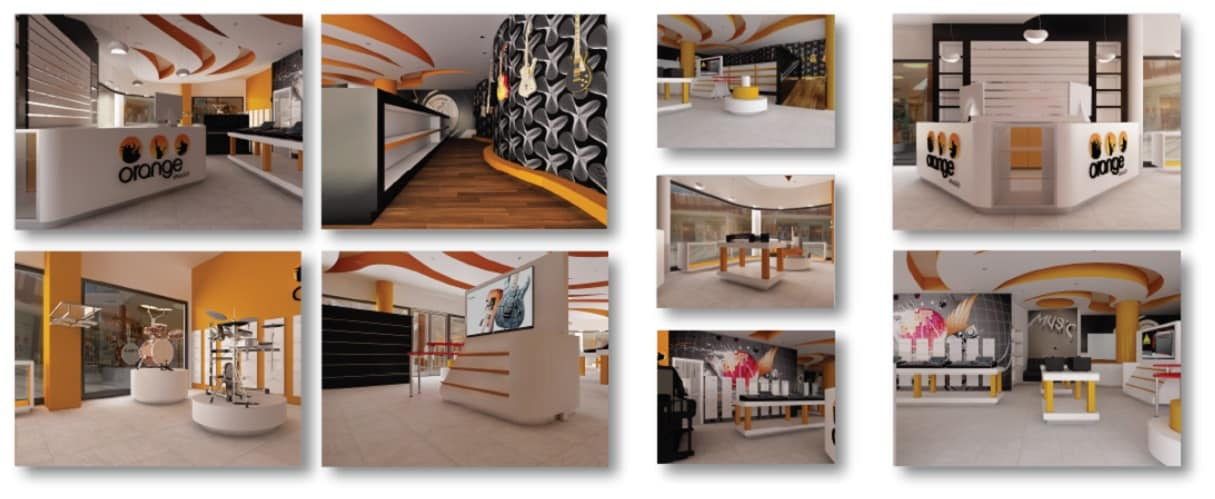 Orange – Concept Music Store