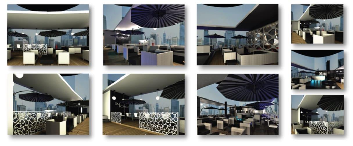 Sky Bar/Lounge – Concept Resturant